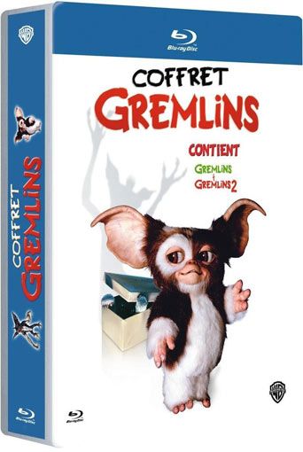Coffret steelbook integrale Gremlins edition collector Blu ray