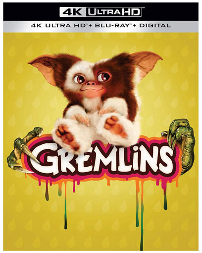 Gremlins Blu ray 4K Ultra HD