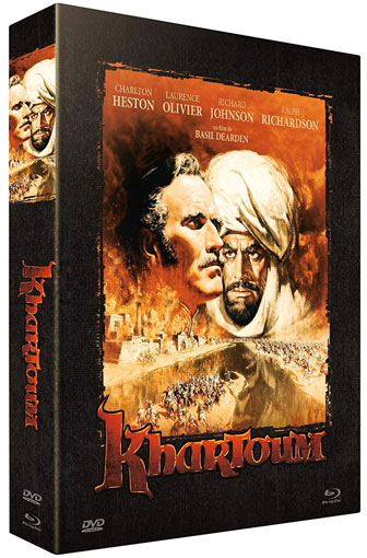 Khartoum editon collector Blu ray DVD