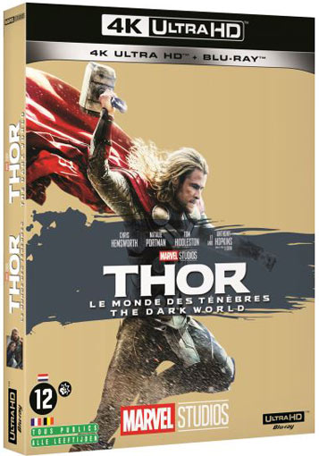 Thor 2 Blu ray 4K Ultra HD