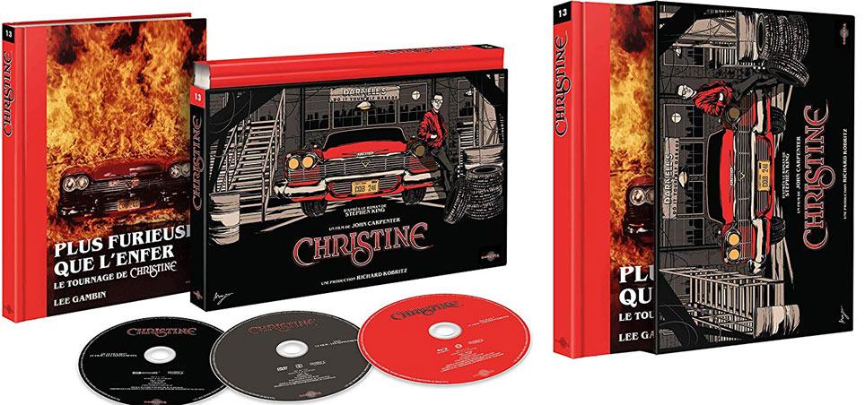 christine film carpenter coffret collector Blu ray 4k uLTRA hd