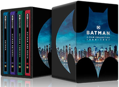 coffret box steelbook batman