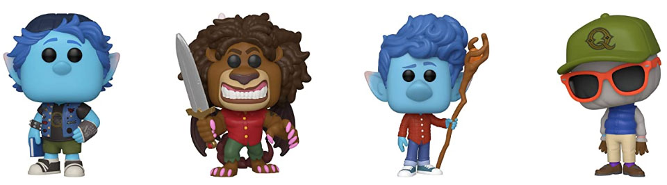 funko onward nouveay disney pixar