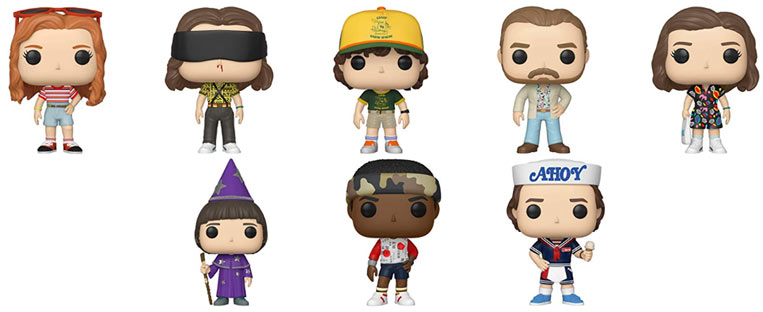 funko stranger things saison 3