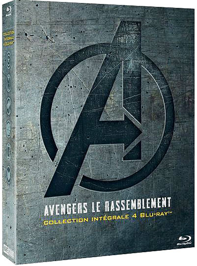 Avengers integrale Blu ray DVD 4 films