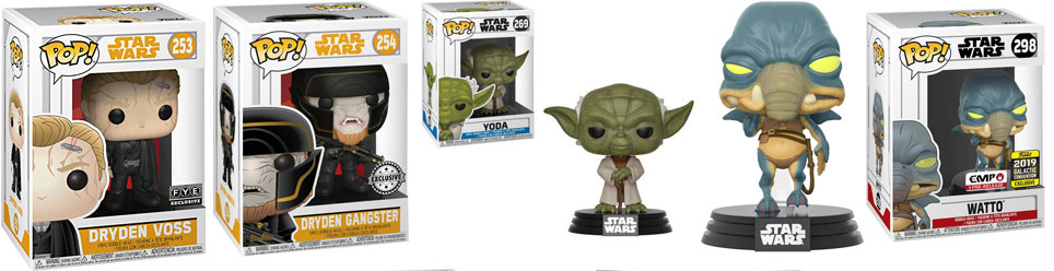 Funko pop star wars limited exclusive edition