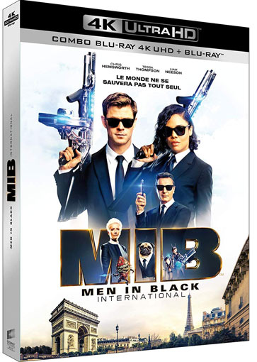 Men In Black international 2019 Blu ray 4K