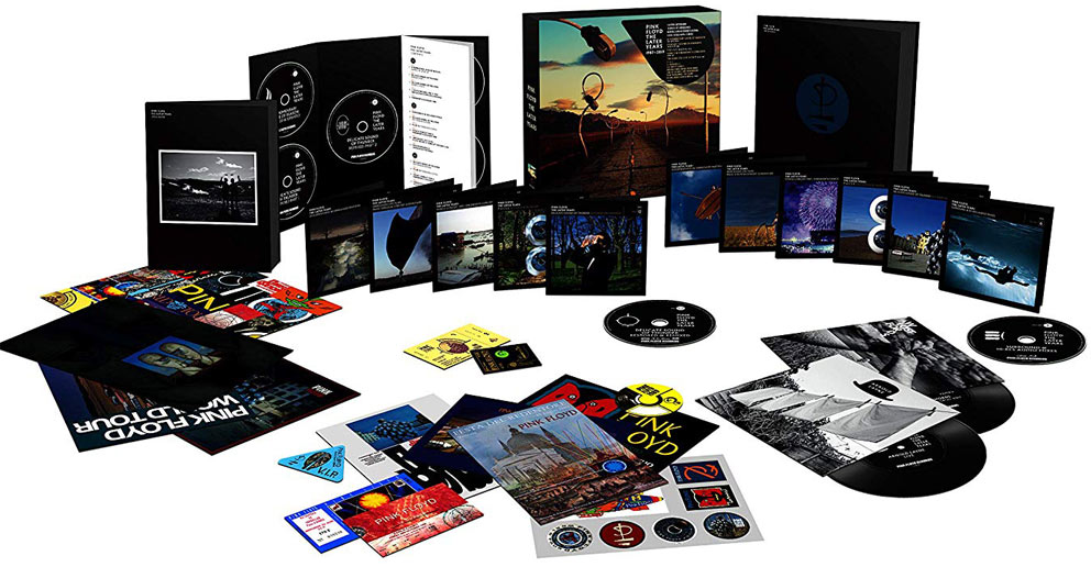 Pink Floyd later year box Coffret collector edition limitee CD Blu ray Vinyle 1987 2019