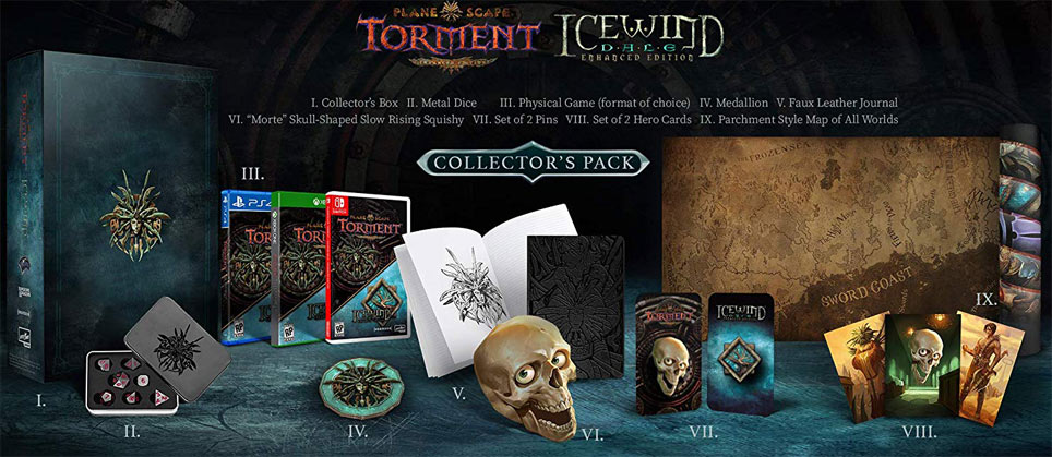 Plane scape torment icewind dale edition collector enhanced edition
