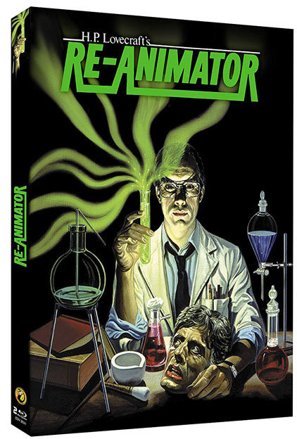 Re animator coffret collector Blu ray edition limitee