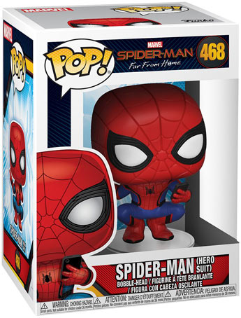 Spider man far from home funko pop collection