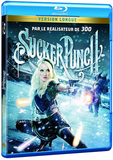 Sucker Punch Blu ray DVD