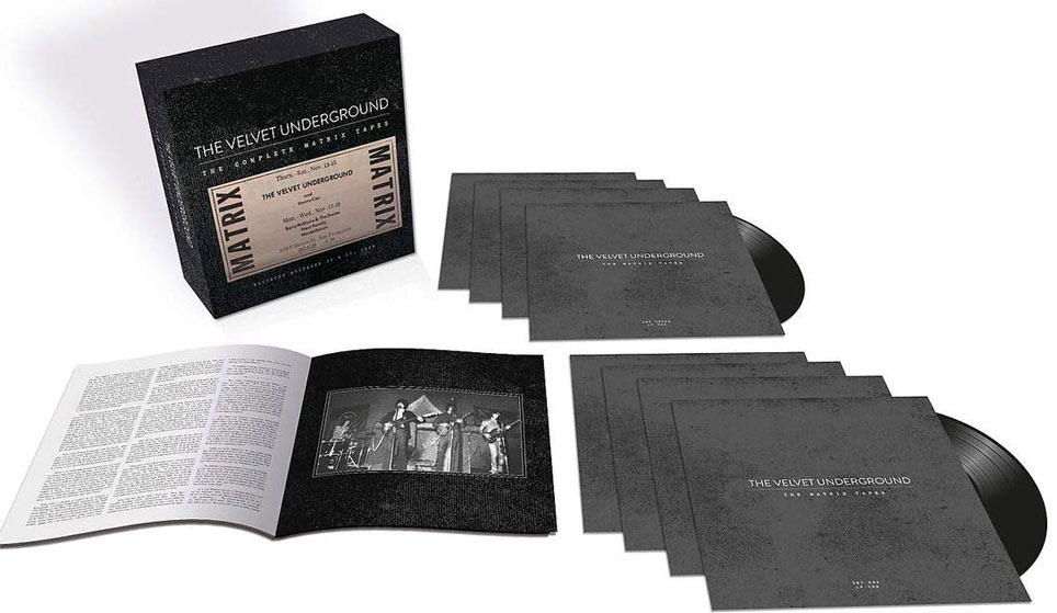 The velvet undergroud complete matrix tapes Box vinyl Collector edition limitee