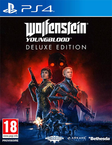 Wolfenstein Youngblood edition deluxe precommande