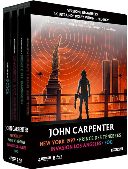 coffret carpenter 4k studio canal
