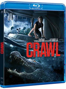 film horreur crocodile 2019 Blu ray DVD noel