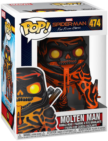 spider man far from home figurine funko pop