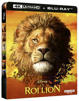 steelbook 4k lion king