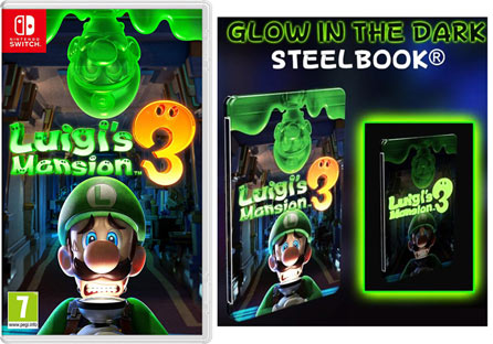steelbook glow in the dark collection