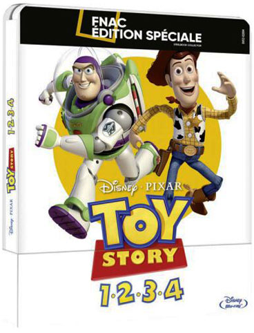 toy story integrale 4 films Blu ray