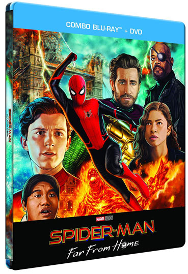 steelbook spider far from home edition limitee Amazon