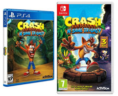 0 crash trilogy ps4