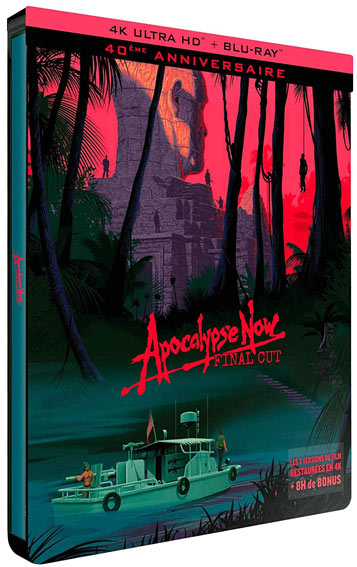 Apocalypse now Blu ray 4K edition collector limitee 2019