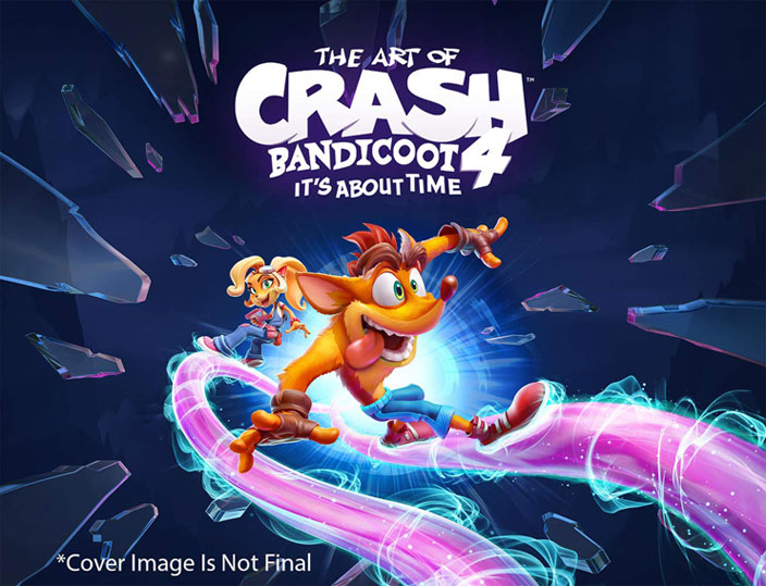 Artbook crash bandicoot 4 its about time achat precommande 2020