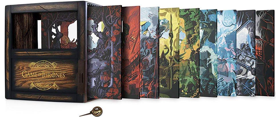 Coffret game of thrones collector edition Blu ray complete integrale serie