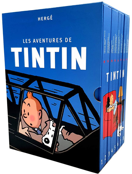 Coffret integrale Tintin