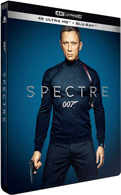 Collection steelbook 007 Spectre james bond blu ray 4K Ultra HD