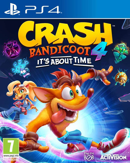 Crash Bandicoot 4 its about time PS4 Xbox Nintendo