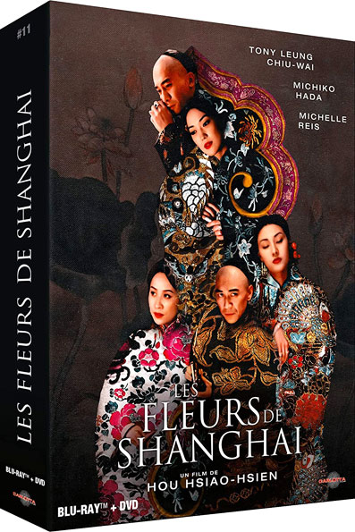 Fleurs de Shanghai edition collector limitee Bluray DVD Goodies