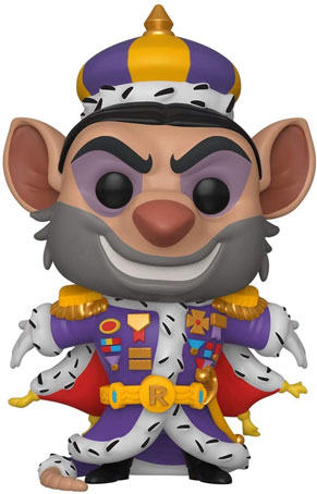Funko pop disney ratigan basil detective mouse
