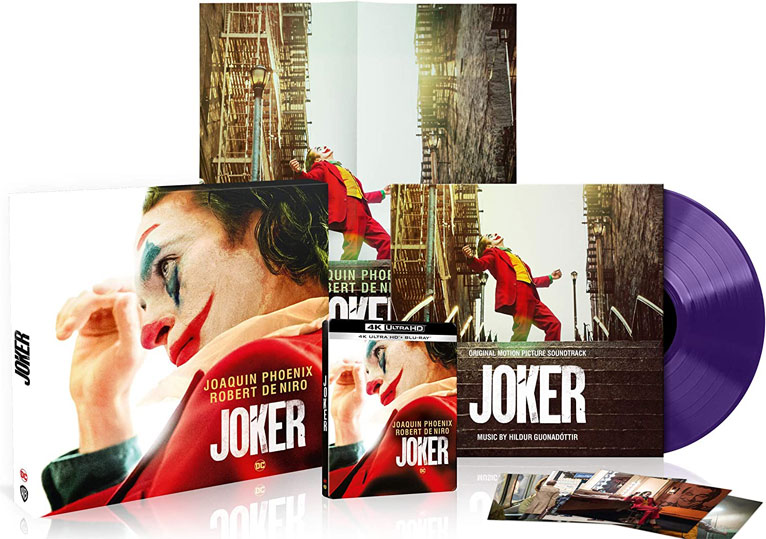 Joker steelbook collector BO Vinyle lp ost soundtrack