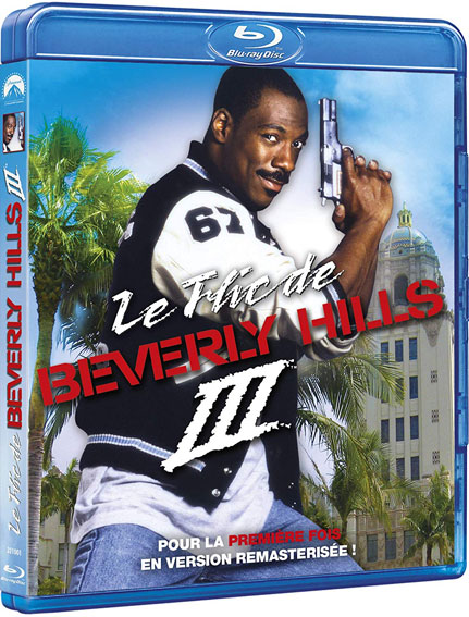 Le flic de beverly hills Blu ray DVD version remasterise coffret integrale