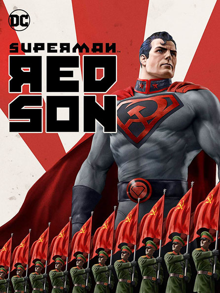 Red Son superman Blu ray