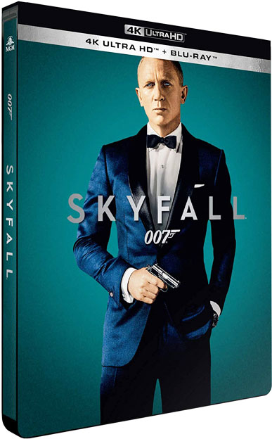 Skyfall Blu ray 4K edition steelbook collector limitee 2020