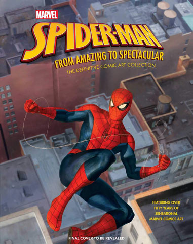 Spiderman Artbook far from hom amazing spectacular