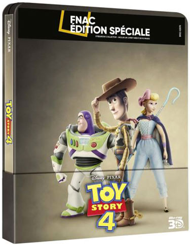 Toy story 4 Steelbook collector fnac Blu ray 3D