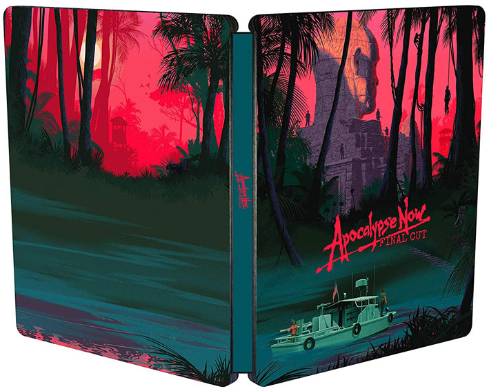 steelbook apocalypse now edition 40 anniversaire final cut Blu ray 4K ultra HD UHD