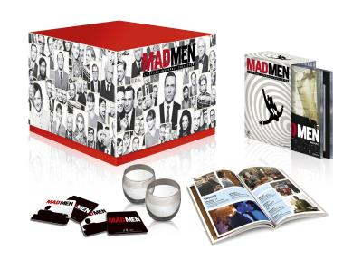 Coffret Mad Men L integrale de la serie Edition Collector limitee DVD