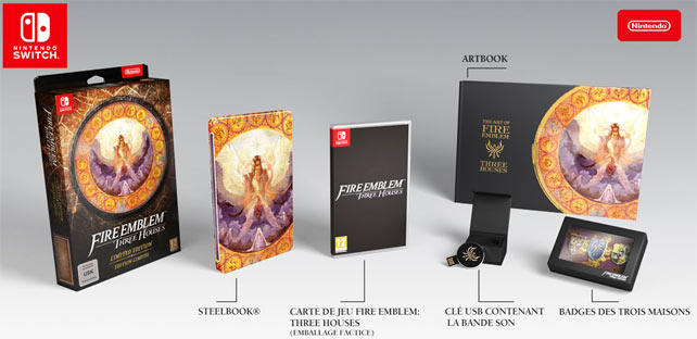 coffret collector jeux video nintendo switch