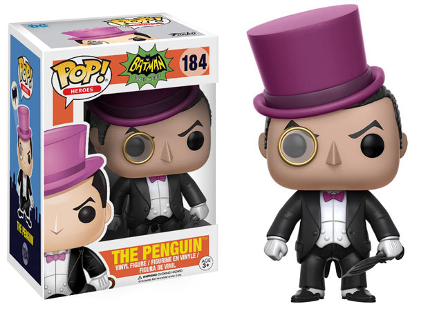 Figurine funko pop batman penguin pingouin