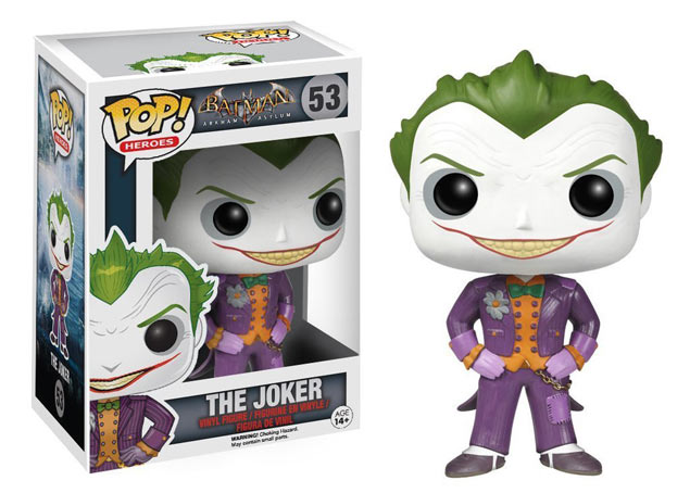 Funko POP the Joker Batman arkham
