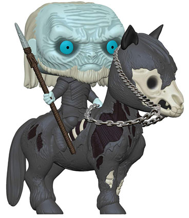 Funko marcheur blanc cheval game of thrones white walker