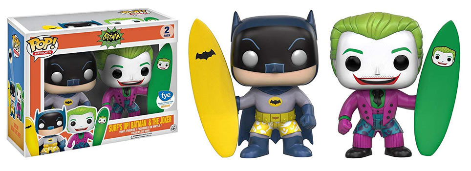 funko batman joker surf