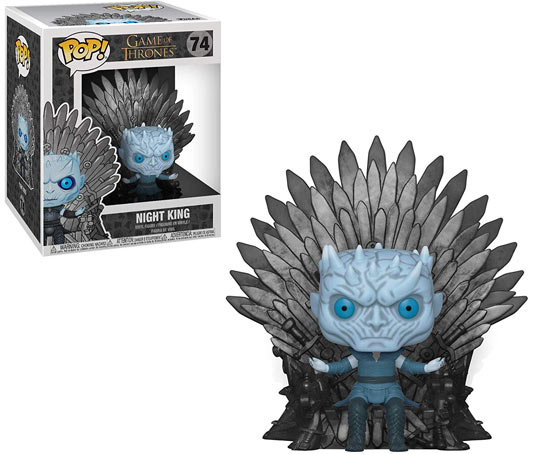 funko night king white walker funko pop