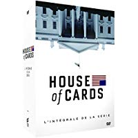 House of Cards Intégrale de la série coffret bluray dvd
