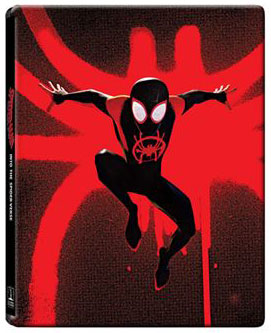 steelbook spider man new generation 3d 4k bluray